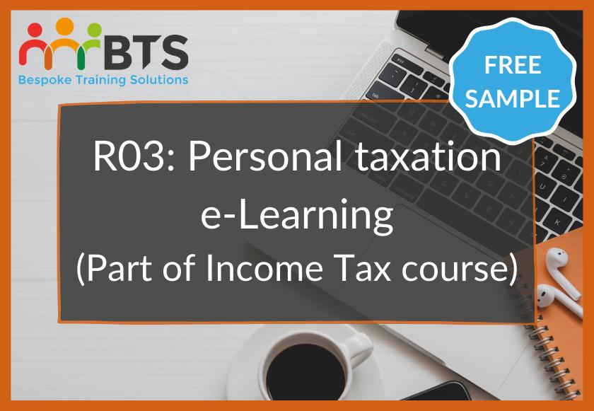 R03 e-Learning sample