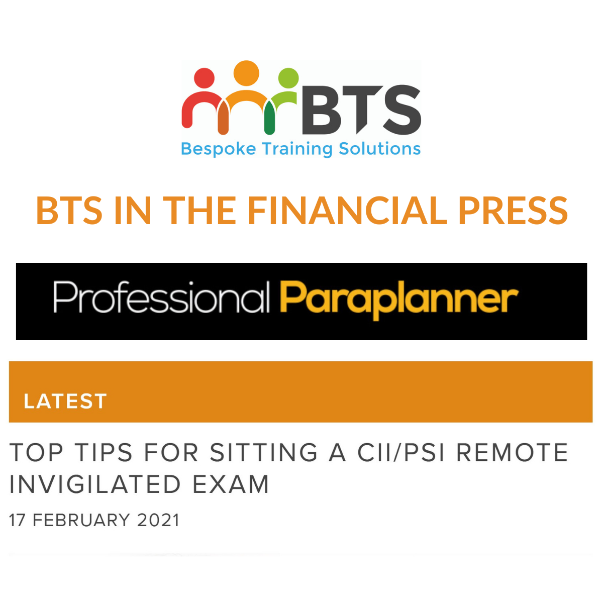 Professional Paraplanner Top Tips for Remote Exams