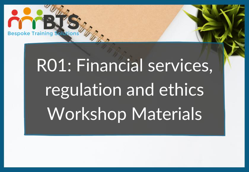 R01 Workshop Materials