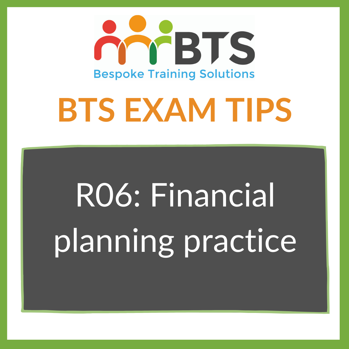 BTS Exam Tips How to Pass R06