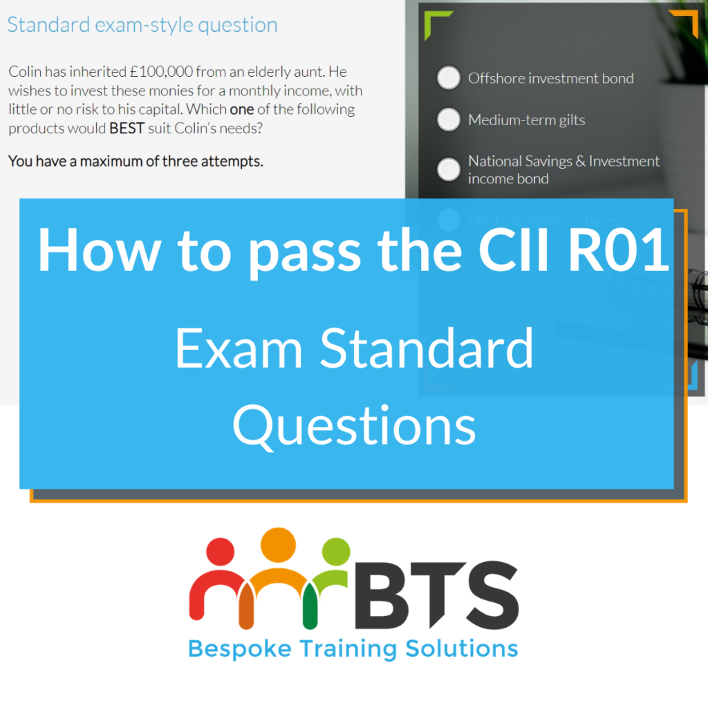 How to pass R01 standard exam questions