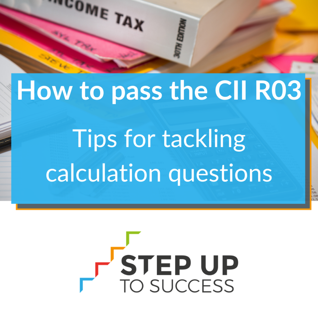 How to pass R03   Tips for calculations