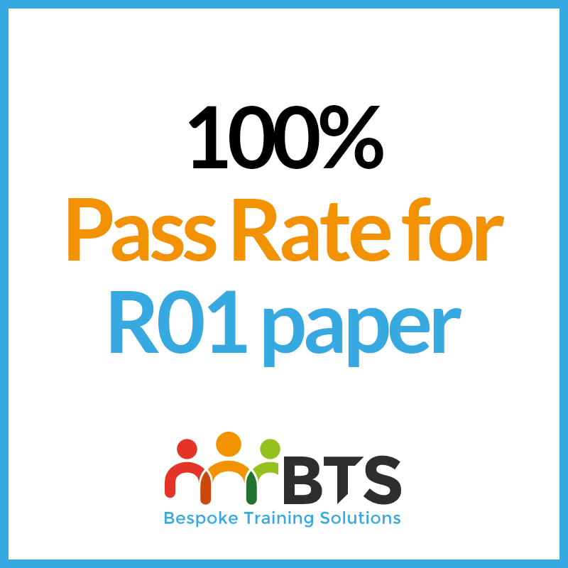 100% pass rate for R01