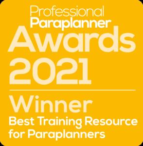 Professional Paraplanner Award 2021 logo